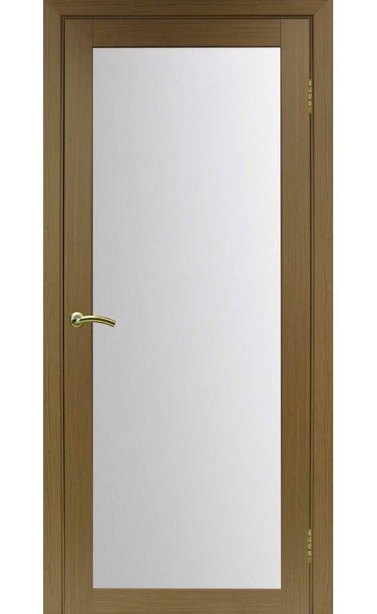 Дверь Оптима Порте - Турин 501 (орех, стекло) в Симферополе