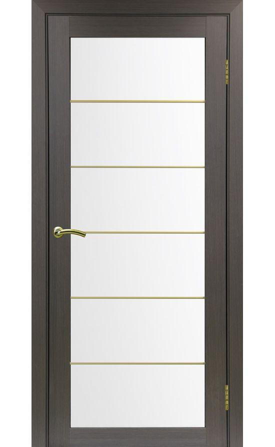 Дверь Оптима Порте - Турин 501 АСС Молдинг SG (венге) в Симферополе