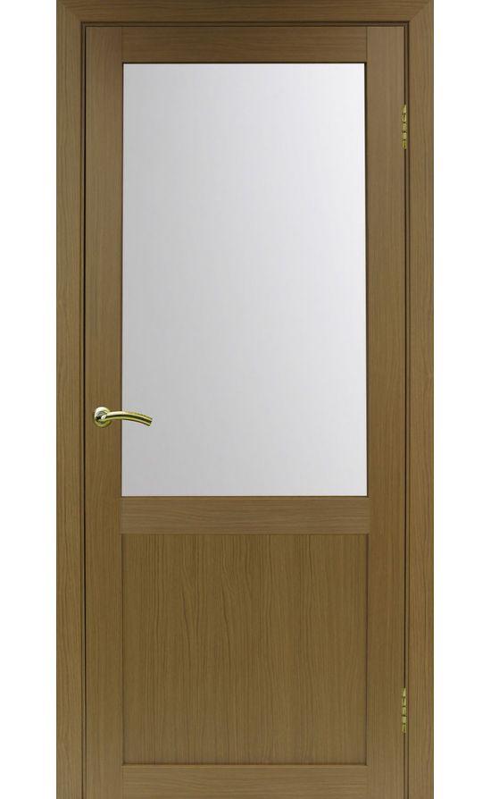 Дверь Оптима Порте - Турин 502 (орех, стекло) в Симферополе