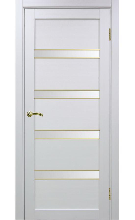 Дверь Оптима Порте - Турин 505 АПС Молдинг SG (белый) в Симферополе
