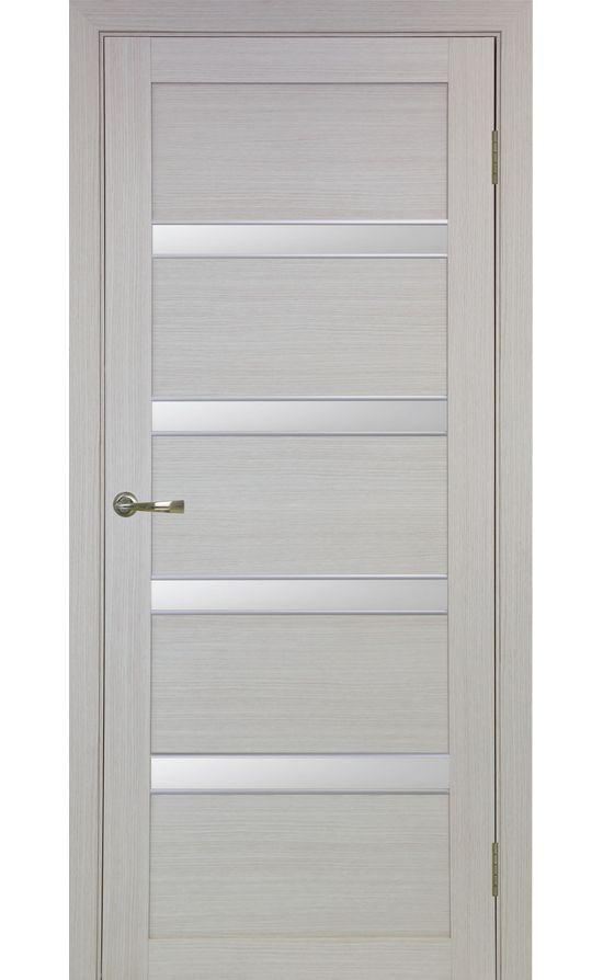 Дверь Оптима Порте - Турин 505 АПС Молдинг SC (дуб беленый) в Симферополе