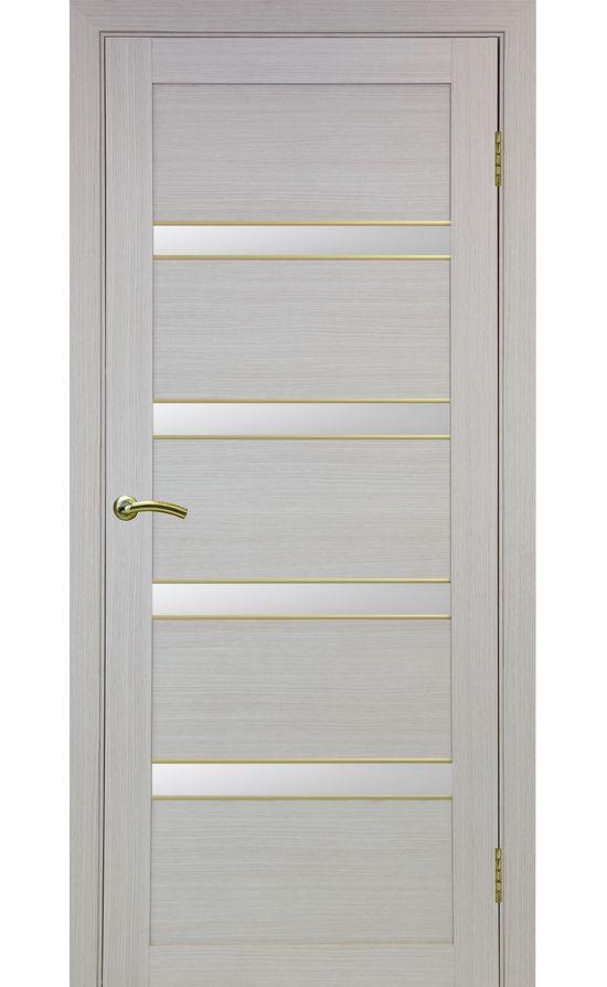 Дверь Оптима Порте - Турин 505 АПС Молдинг SG (дуб беленый) в Симферополе