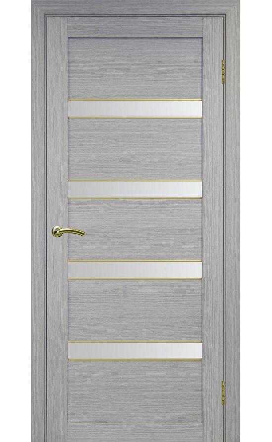 Дверь Оптима Порте - Турин 505 АПС Молдинг SG (дуб серый) в Симферополе