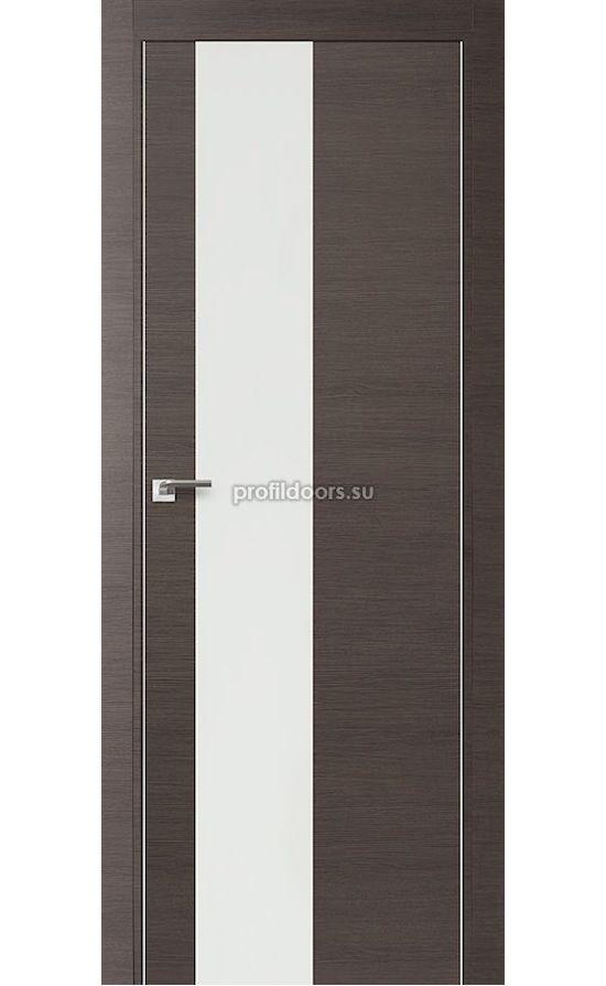 Двери Профильдорс, модель 5Z грей кроскут, белый лак (серия Z) в Крыму