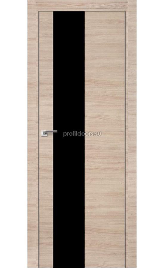 Двери Профильдорс, модель 5Z капучино кроскут, черный (серия Z) в Крыму
