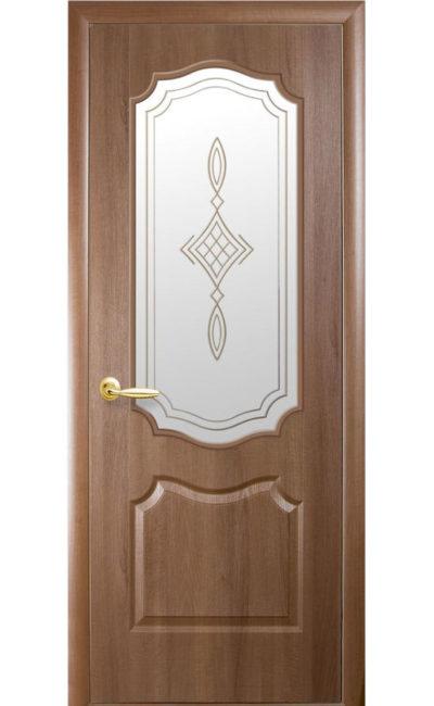 Купить двери Вензель ДО (золотая ольха) в Симферополе
