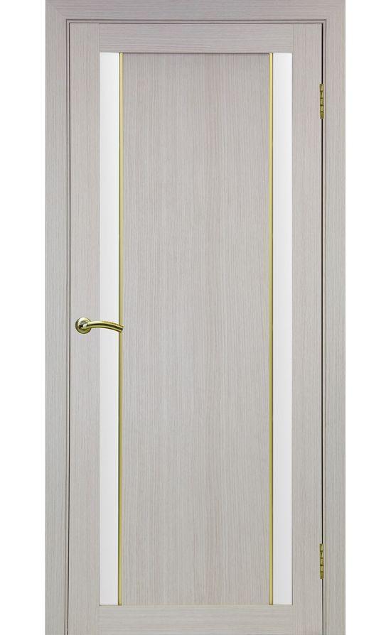 Дверь Оптима Порте - Турин 522 АПС Молдинг SG (дуб беленый) в Симферополе