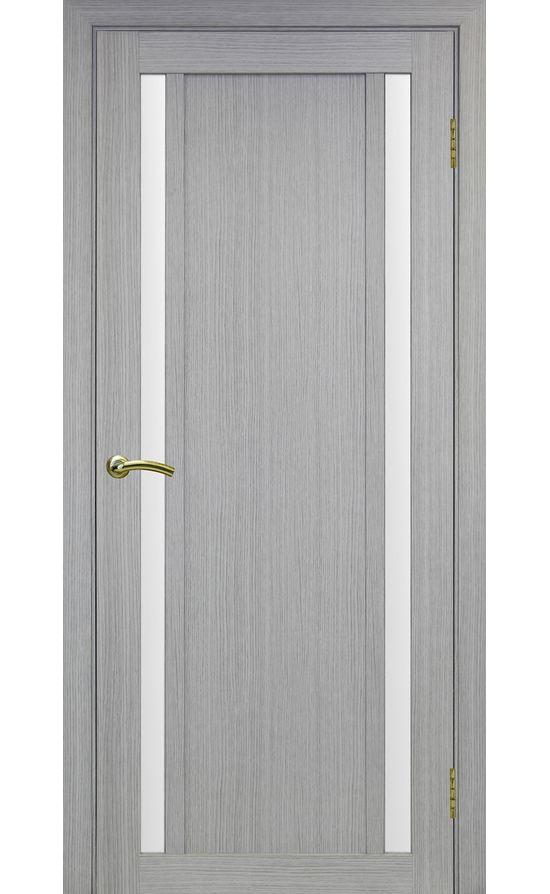 Дверь Оптима Порте - Турин 522 (дуб серый, стекло) в Симферополе
