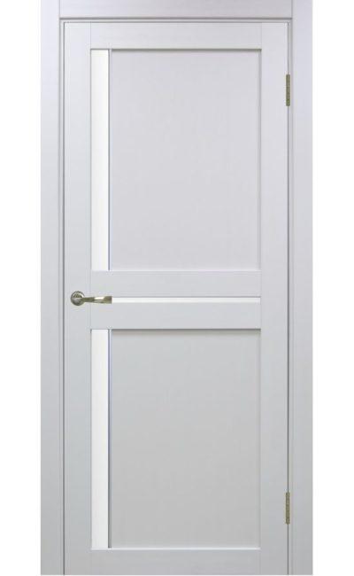 Дверь Оптима Порте - Турин 523 АПС Молдинг SC (белый) в Симферополе