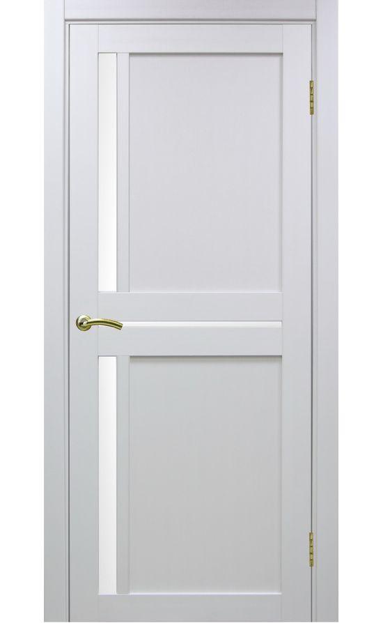 Дверь Оптима Порте - Турин 523 (белый, стекло) в Симферополе