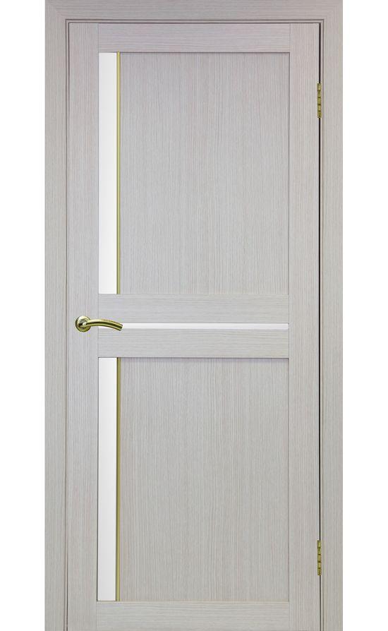 Дверь Оптима Порте - Турин 523 АПС Молдинг SG (дуб беленый) в Симферополе