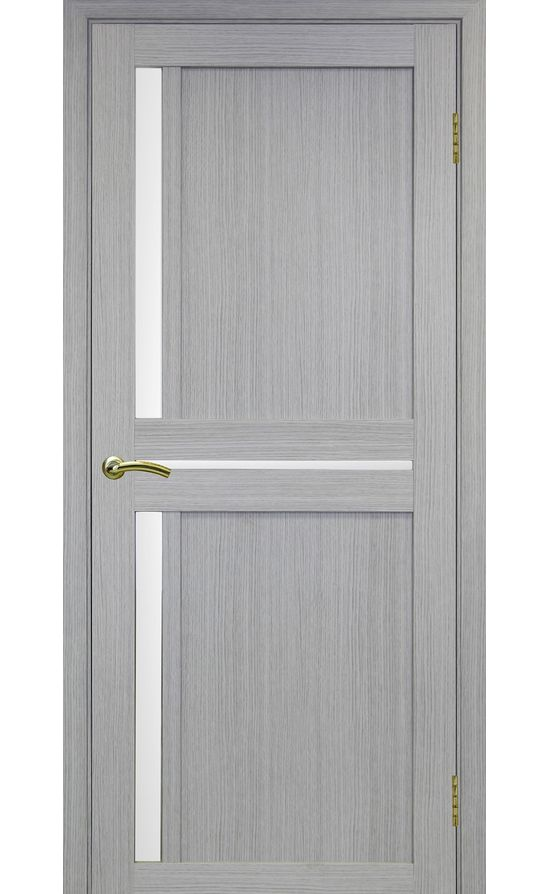 Дверь Оптима Порте - Турин 523 (дуб серый, стекло) в Симферополе