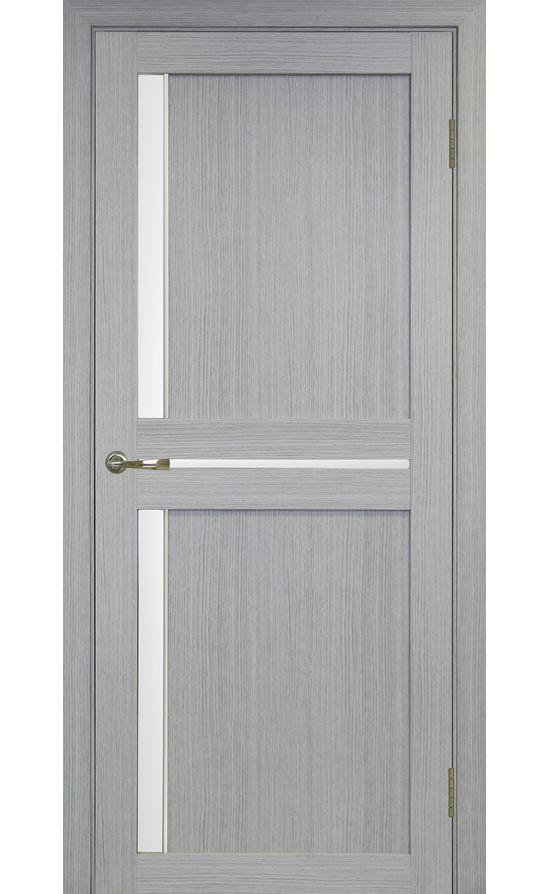 Дверь Оптима Порте - Турин 523 АПС Молдинг SC (дуб серый) в Симферополе