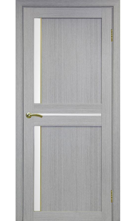 Дверь Оптима Порте - Турин 523 АПС Молдинг SG (дуб серый) в Симферополе