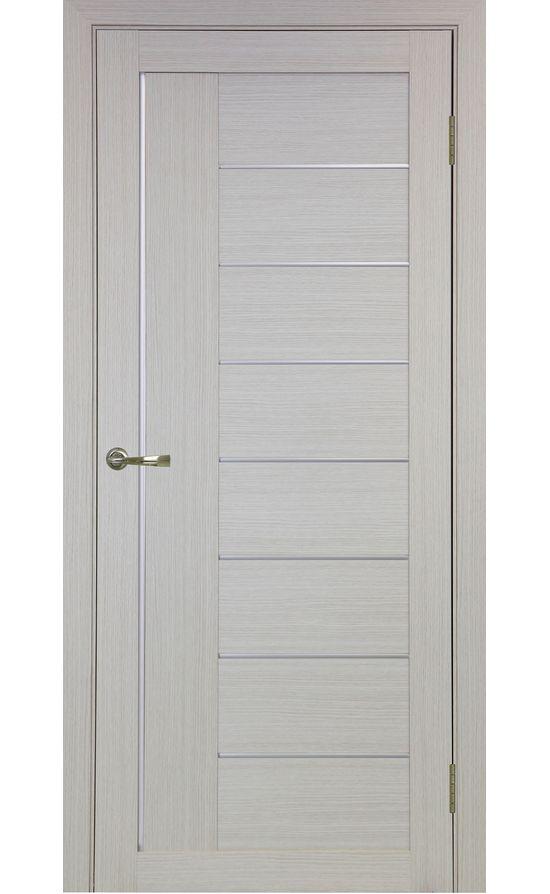 Дверь Оптима Порте - Турин 524 АПП Молдинг SC (дуб беленый) в Симферополе
