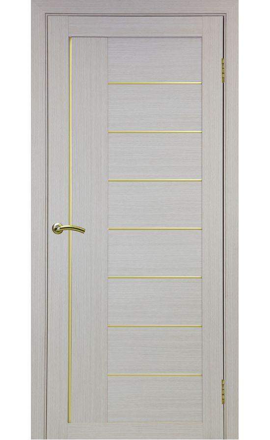 Дверь Оптима Порте - Турин 524 АПП Молдинг SG (дуб беленый) в Симферополе