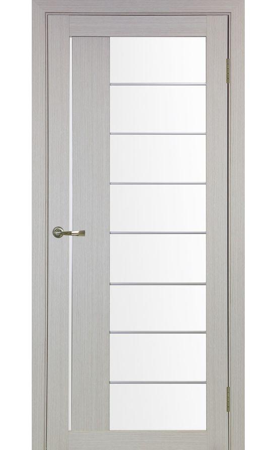 Дверь Оптима Порте - Турин 524 АСС Молдинг SC (дуб беленый) в Симферополе