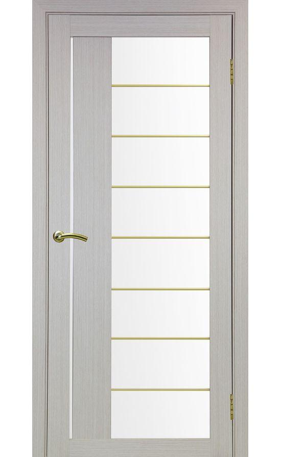 Дверь Оптима Порте - Турин 524 АСС Молдинг SG (дуб беленый) в Симферополе