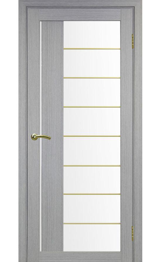 Дверь Оптима Порте - Турин 524 АСС Молдинг SG (дуб серый) в Симферополе