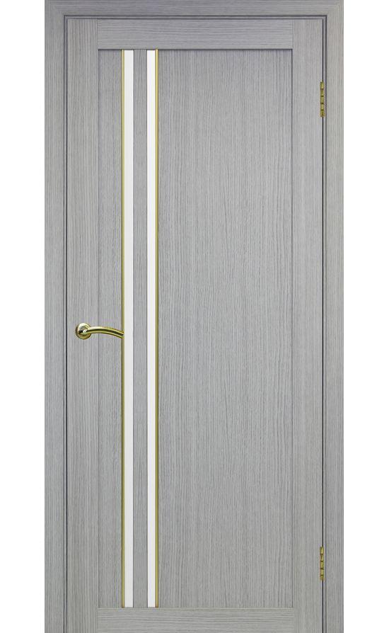Дверь Оптима Порте - Турин 525 АПС Молдинг SG (дуб серый) в Симферополе