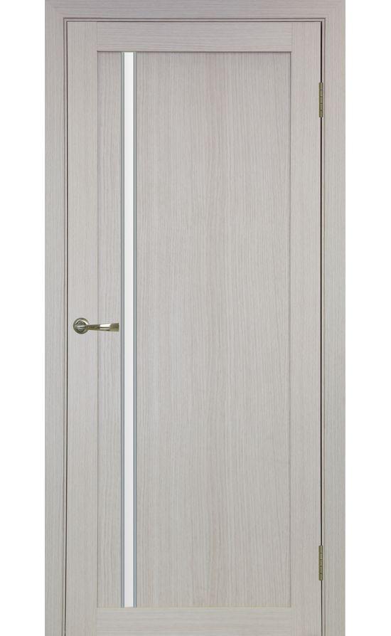 Дверь Оптима Порте - Турин 527 АПС Молдинг SC (дуб беленый) в Симферополе