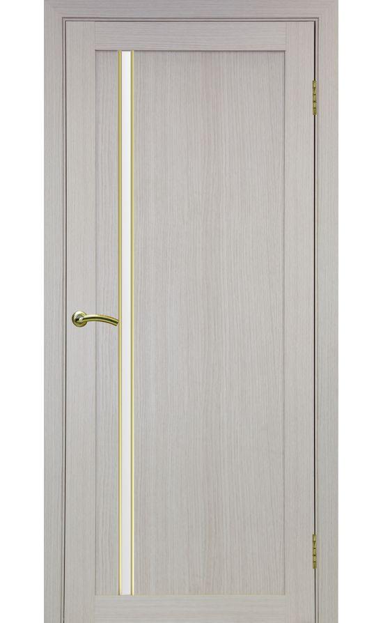 Дверь Оптима Порте - Турин 527 АПС Молдинг SG (дуб беленый) в Симферополе