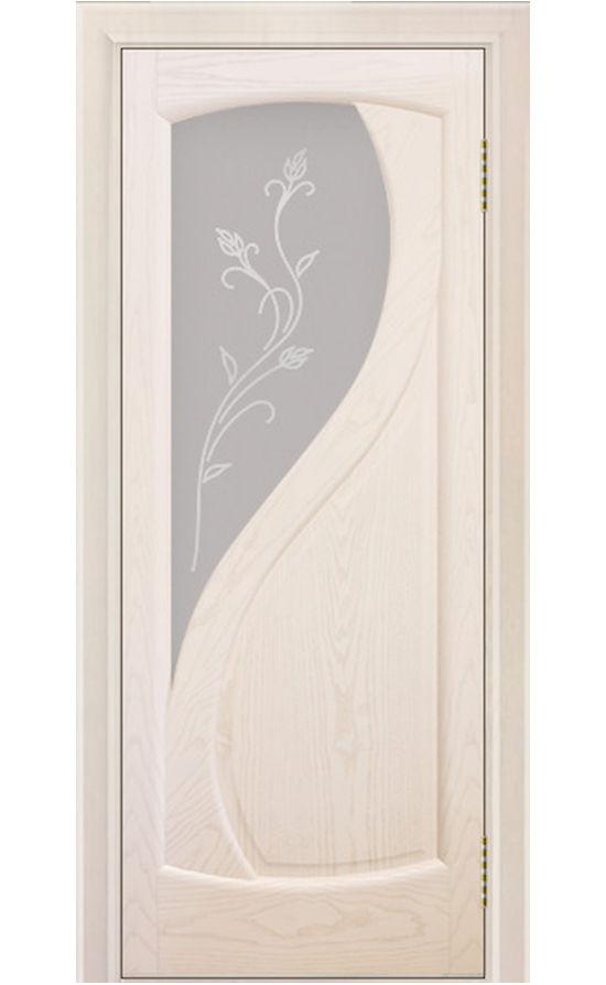 Двери ЛайнДор - Новый стиль 2 Тон 27 Жемчуг стекло