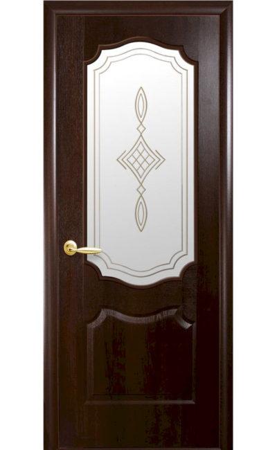 Купить двери Вензель ДО (каштан) в Симферополе