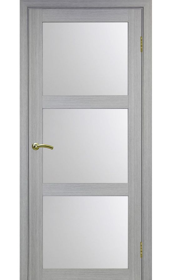 Дверь Оптима Порте - Турин 530 (дуб серый, стекло) в Симферополе