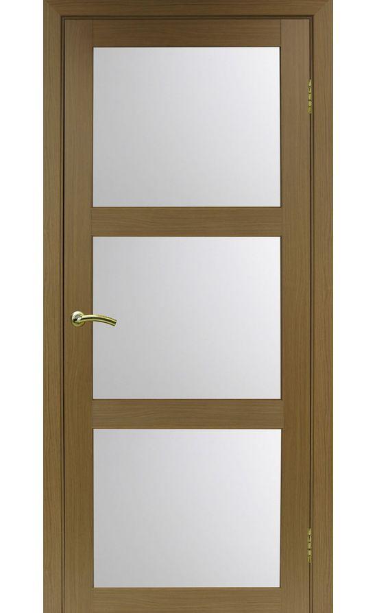 Дверь Оптима Порте - Турин 530 (орех, стекло) в Симферополе