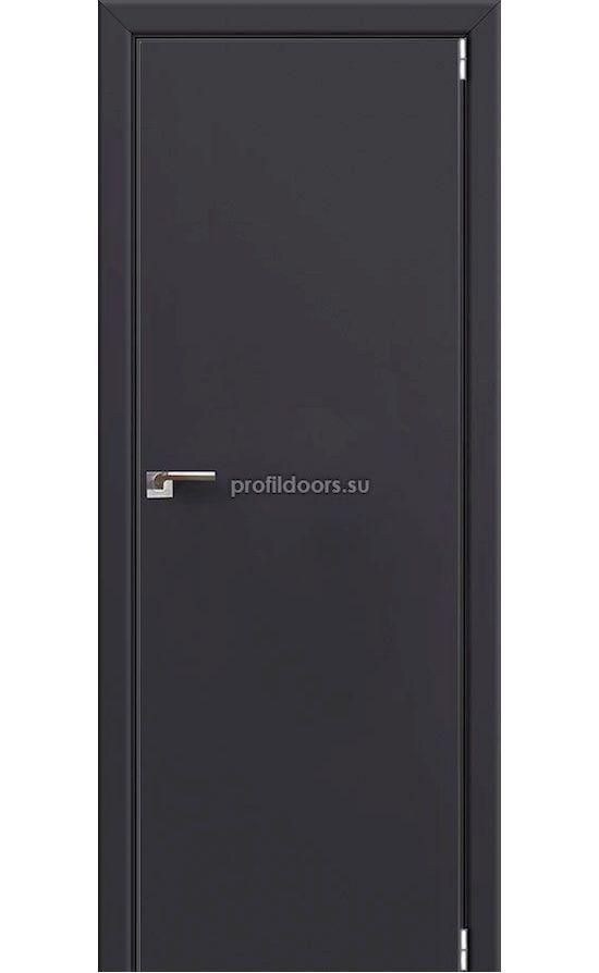 Двери Профильдорс, модель 1E антрацит (Серия E MAT) в Крыму