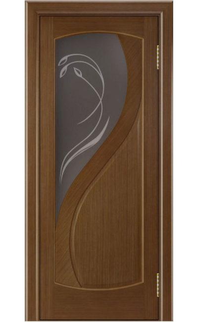 Двери ЛайнДор - Новый стиль Тон 5 Дуб светлый стекло