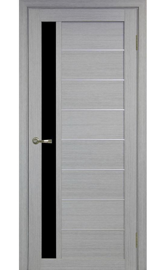 Дверь Оптима Порте - Турин 554 АПП Молдинг SC (дуб серый) в Симферополе