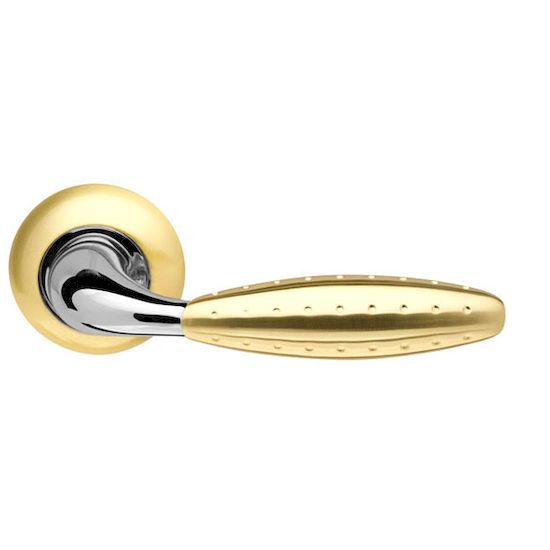 Дверная ручка Armadillo Dorado LD32-1SG-CP-1 матовое золото/хром в Симферополе.