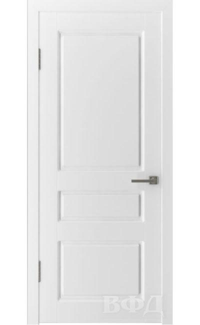 Двери от ВФД - Честер эмаль белая глухая (зимняя коллекция) в Симферополе.