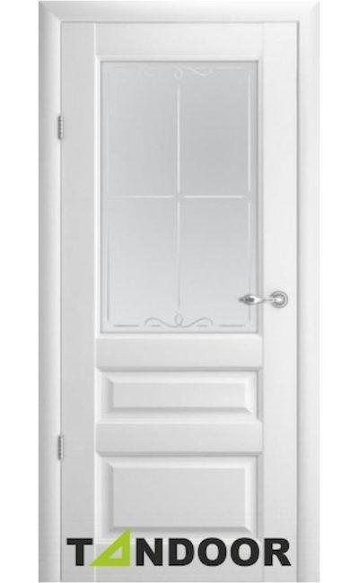 Купить двери Эрмитаж 2 Белый стекло в Симферополе