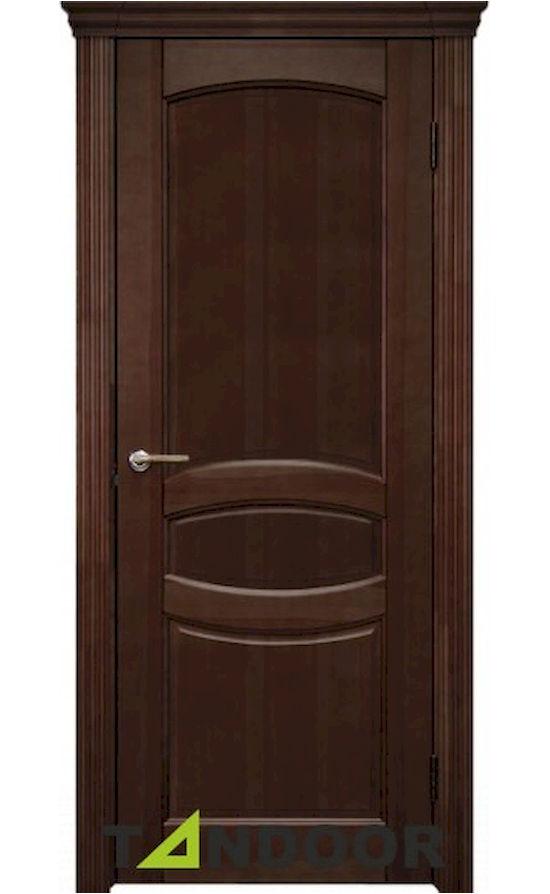 Купить двери Виктория Средний орех морение в Симферополе