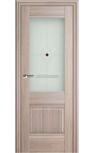 Двери Профильдорс, модель 2Х Орех Пекан, узор 1 (х классика) в Крыму