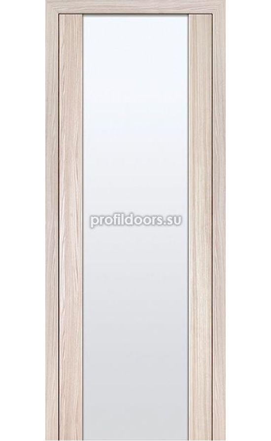 Двери Профильдорс, модель 8Х капучино мелинга, белый триплекс (X Модерн) в Крыму