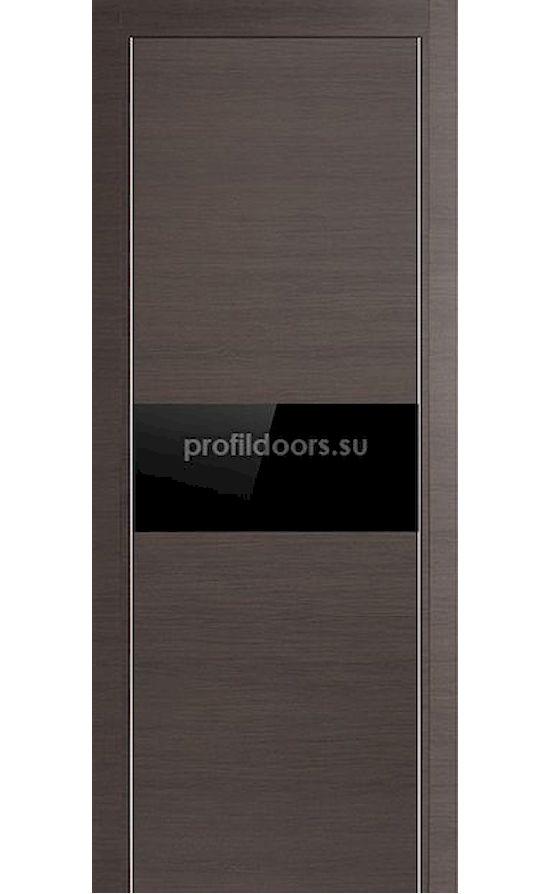 Двери Профильдорс, модель 4Z грей черный, глянцевый лак (серия Z) в Крыму