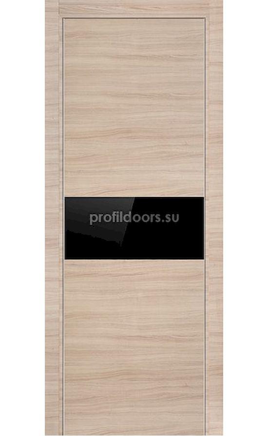 Двери Профильдорс, модель 4Z капучино черный глянцевый (серия Z) в Крыму