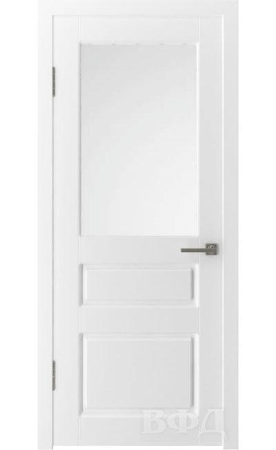 Двери от ВФД - Честер эмаль белая стекло (зимняя коллекция) в Симферополе.