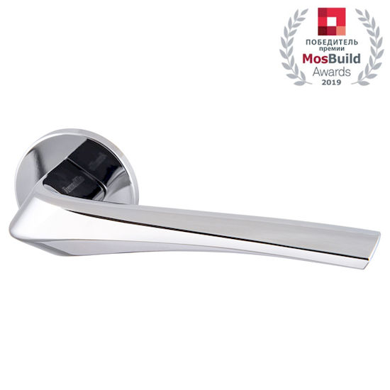 Дверная ручка Armadillo FLAME URS CP-8 Хром в Симферополе.