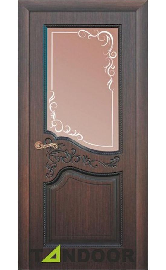 Купить двери Бордо Шоколад стекло в Симферополе