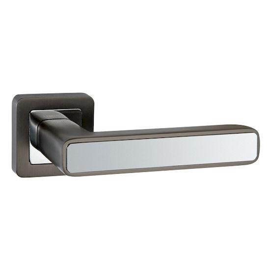 Ручка дверная Punto MARS QR-HD GR-CP-23 графит/хром в Симферополе