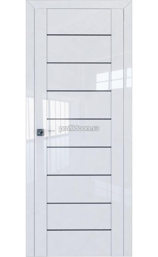 Двери Профильдорс, модель 45L белый глянец графит (Серия L) в Крыму