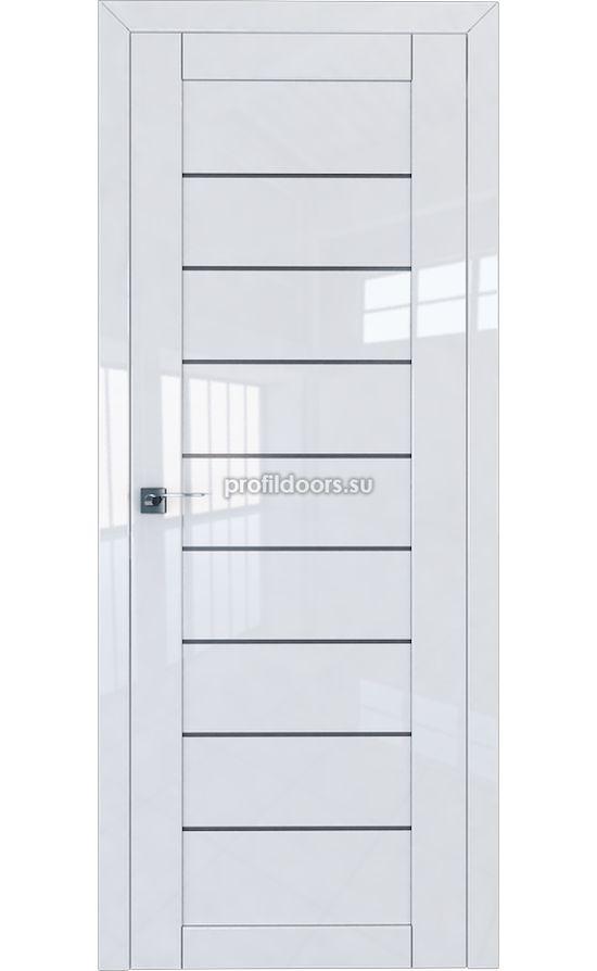 Двери Профильдорс, модель 73L белый глянец графит (Серия L) в Крыму