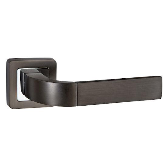 Ручка дверная Punto ORION QR GR-CP-23 графит/хром в Симферополе