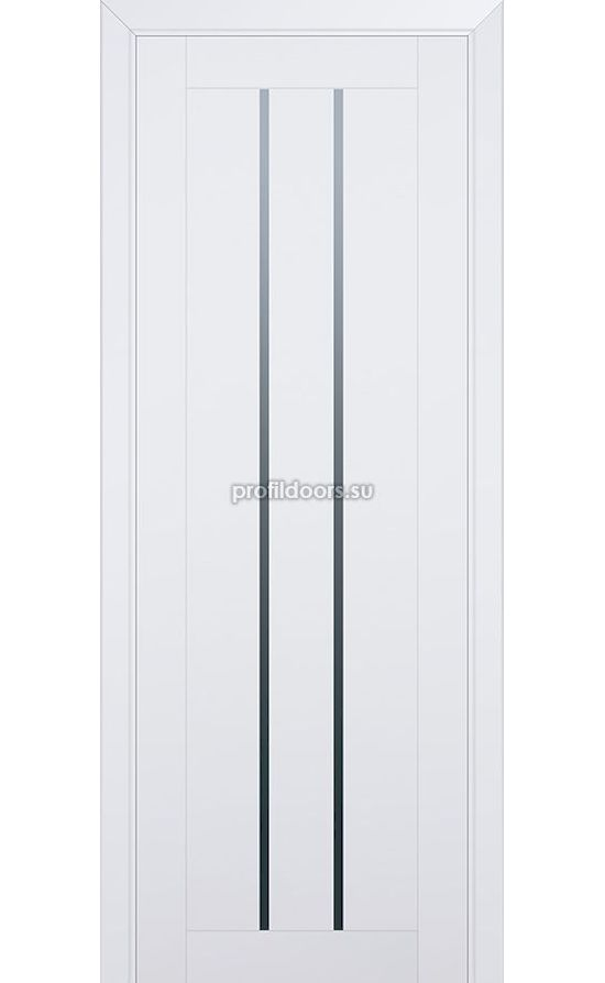 Двери Профильдорс, модель 49u аляска стекло графит (U модерн) в Крыму