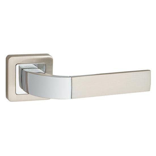 Ручка дверная Punto ORION QR-HD SN-CP-3 матовый никель/хром в Симферополе